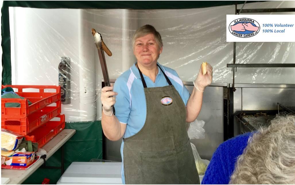 Volunteers Hard at Work – BBQ